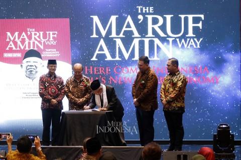 Peluncuran Buku The Ma'ruf Amin Way