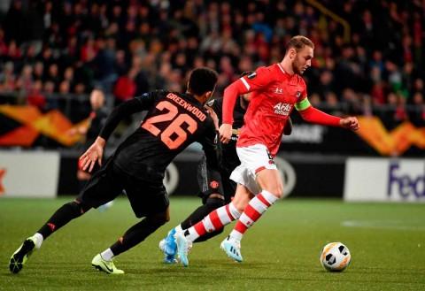 Manchester United Susah Payah Imbangi AZ Alkmaar