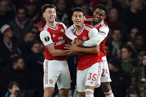 Martinelli Gemilang, Arsenal Hancurkan Standard Liege