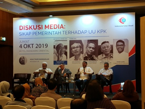 Legislator PKS di Belakang Jokowi Kawal UU KPK