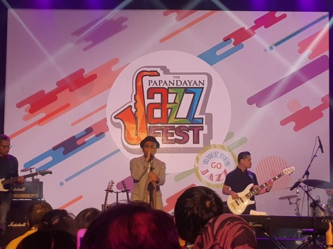Glenn Fredly Pamer Cincin Pernikahan di The Papandayan Jazz Fest 2019