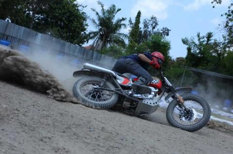 Flat Track Race ala Kustomfest, Seru-Seruan tapi Serius