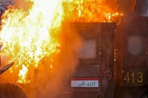 Korban Tewas Demo Irak Lampaui 70 Orang
