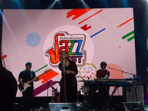 Danilla Kedinginan di The Papandayan Jazz Fest 2019