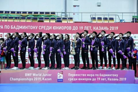 Indonesia Juara Kejuaraan Dunia Junior Bulu Tangkis