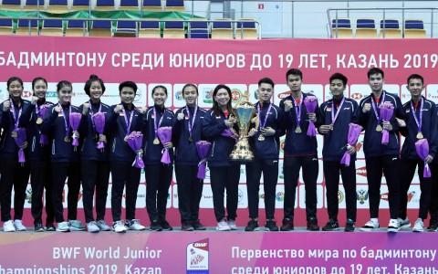 Komentar Ganda Putri Junior Indonesia Usai Jadi Penentu Juara Dunia