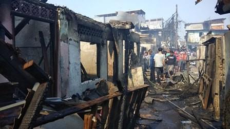 Dua Kelurahan di Taman Sari Terbakar