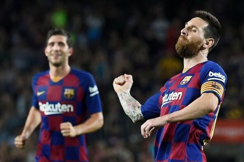 Dua Kartu Merah Nodai Kemenangan Telak Barcelona atas Sevilla