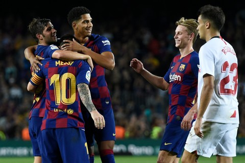 Barcelona Gilas Sevilla 4-0