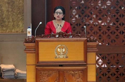 Puan Sebut Salah Ketik di UU KPK Lumrah