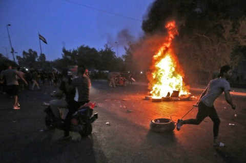 Irak Akui Terlalu Berlebihan dalam Merespons Pedemo