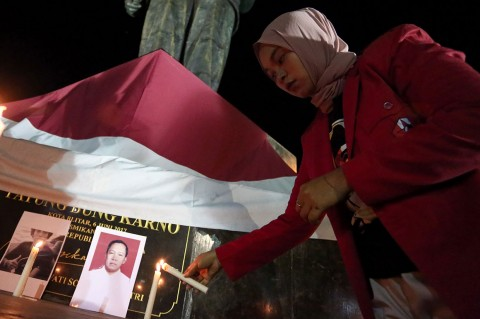 Doa Lintas Agama untuk Indonesia Damai Digelar di Blitar