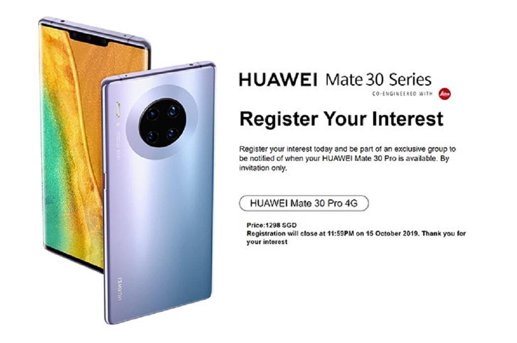Huwawei Mate 30 Pro Sudah Rilis!!