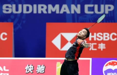 Cedera Berangsur Pulih, Anthony Ginting Tatap Denmark Open