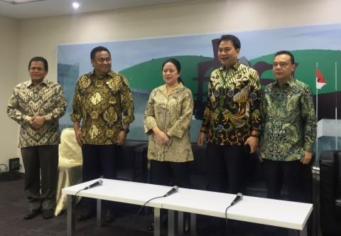 Pimpinan DPR Tinjau Kompleks Parlemen