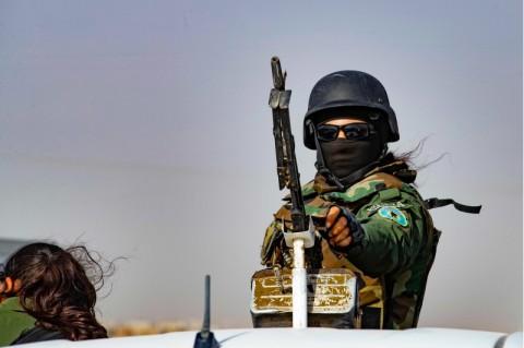 Turki Hantam Target Militan Kurdi di Irak