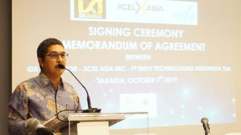BEI Gandeng XCel Asia & ENVY Topang IDX Incubator