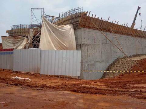 Tiang Besi Proyek Tol Depok-Antasari Ambruk Timpa Lima Pekerja