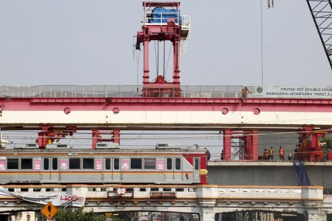 Stasiun Pusat Manggarai Ditarget Beroperasi 2021