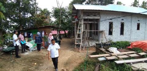 Rumah Terdampak Gempa di Ambon Mulai Diperbaiki