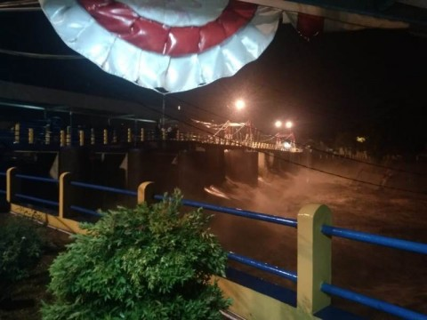 Hujan Deras, Bendung Katulampa Bogor Siaga Tiga