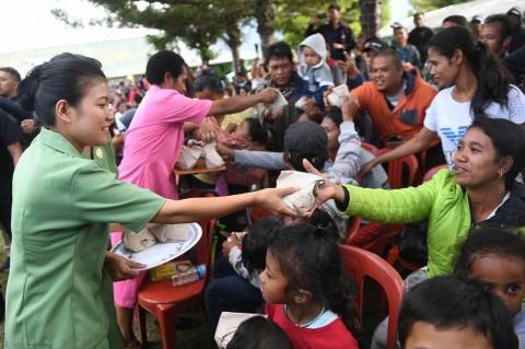 Aktivitas Masyarakat di Wamena Mulai Normal