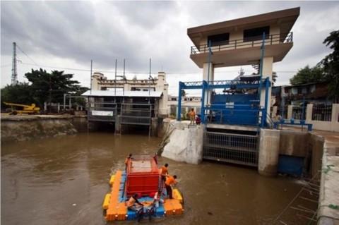 Debit Sungai di Jakarta Meningkat Usai Hujan