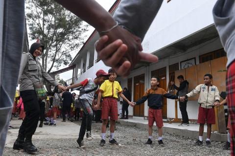 Sekolah di Wamena Utamakan Pemulihan Trauma