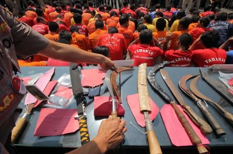 Operasi Sikat Semeru, Polrestabes Surabaya Ungkap 409 Kasus Kejahatan