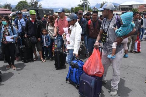 92 Korban Kerusuhan Wamena Tiba di Jatim