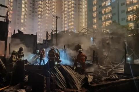 Kebakaran Cawang Mengakibatkan Tiga Korban Luka