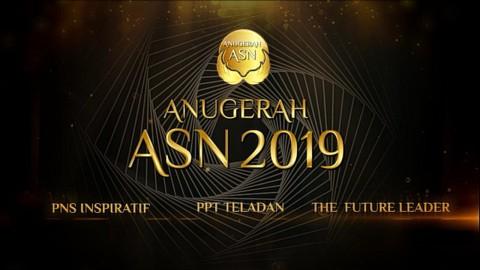 100 Nominasi Lolos Tahap I Anugerah ASN 2019