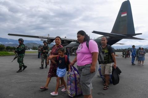 18 Warga Garut Kembali Setelah Mengungsi di Wamena