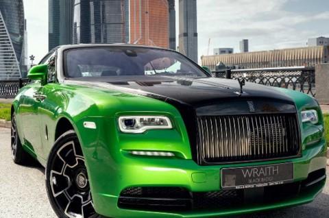 Rolls-Royce Wraith Black & Bright Collection Penghormatan untuk Moskow