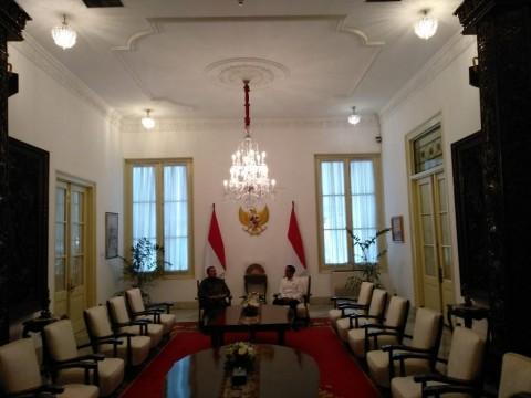 Jokowi dan SBY Bicarakan Jatah Menteri