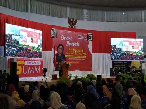 Menkeu Buka Pikiran Mahasiswa soal Utang Indonesia