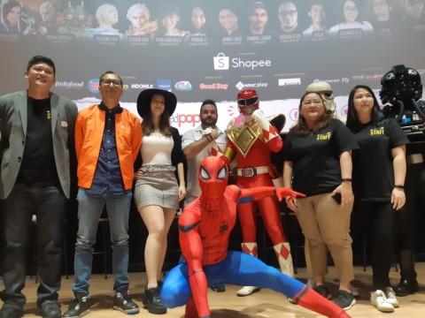 Power Ranger Merah Tak Sabar Temui Penggemar di Indonesia