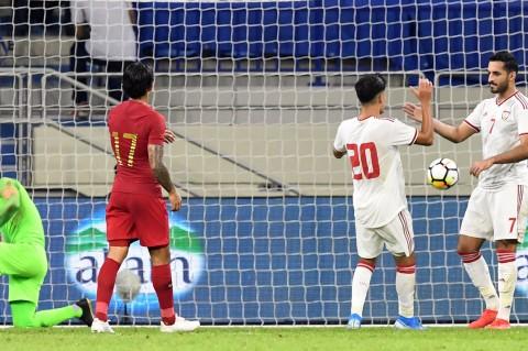 Timnas Indonesia Dihajar UEA 5-0