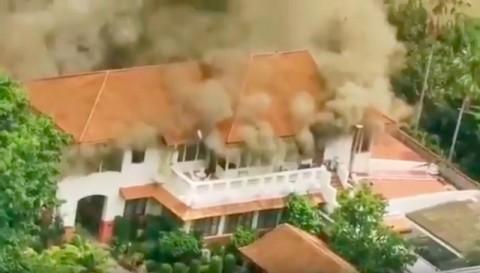Rumah Dinas Dubes RI di Thailand Terbakar