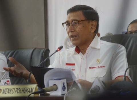 Wiranto Can't Wait To Get Back To Work