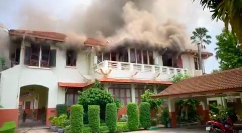 Dubes RI Saksi Mata Kebakaran Rumah Dinas di Thailand