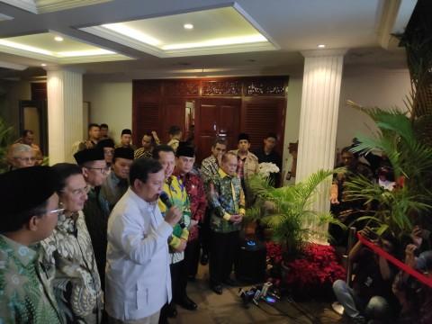 Prabowo Pesan Jangan Ada Oligarki di MPR