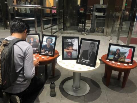 Doa Bersama Kenang Korban Tewas Demonstrasi Penolakan UU KPK
