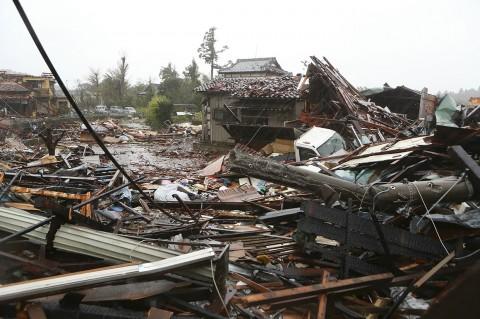 Jepang Porakporanda Disapu Topan Hagibis