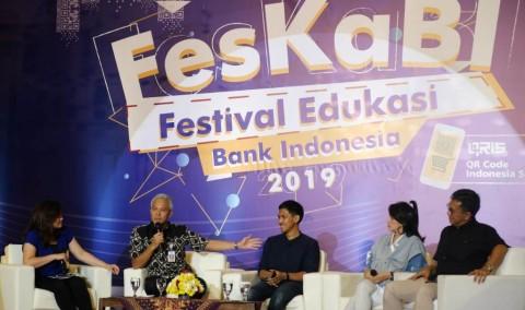FesKaBI Perkenalkan QRIS kepada Milenial
