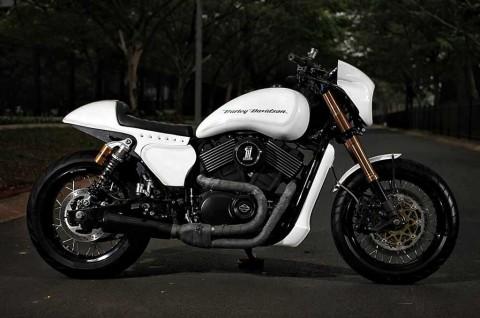 Tampilan Keren Harley-Davidson Street 500 Bergaya Cafe Racer