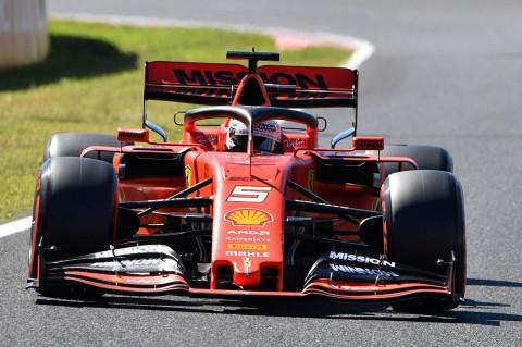 Vettel Rebut Pole Position GP Jepang