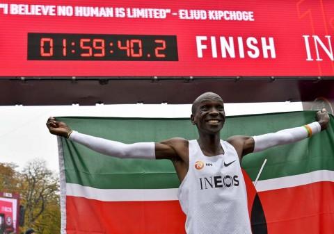 Pelari Kenya Ukir Sejarah Baru Lari Marathon