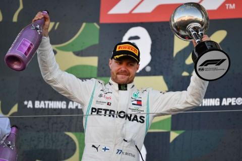 F1GP Jepang: Bottas Juara, Mercedes Ukir Rekor Anyar