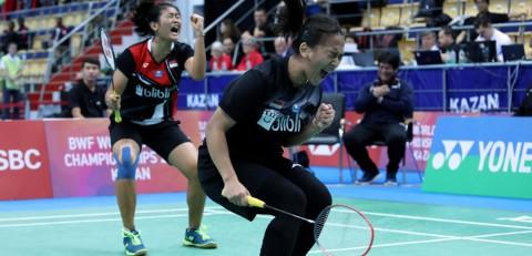 Kejuaraan Dunia Junior 2019: Febriana/Amalia Tersungkur di Final